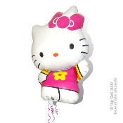 BALLON PERSONNAGE HELLO KITTY HELIUM