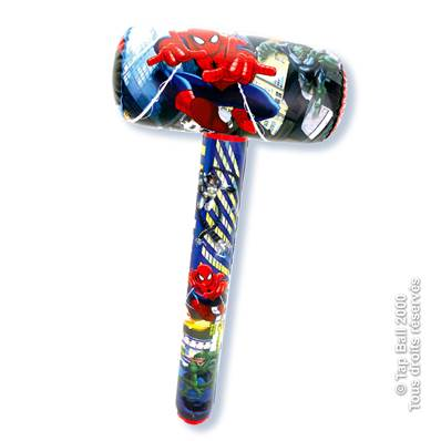 MAILLET GONFLABLE SPIDERMAN