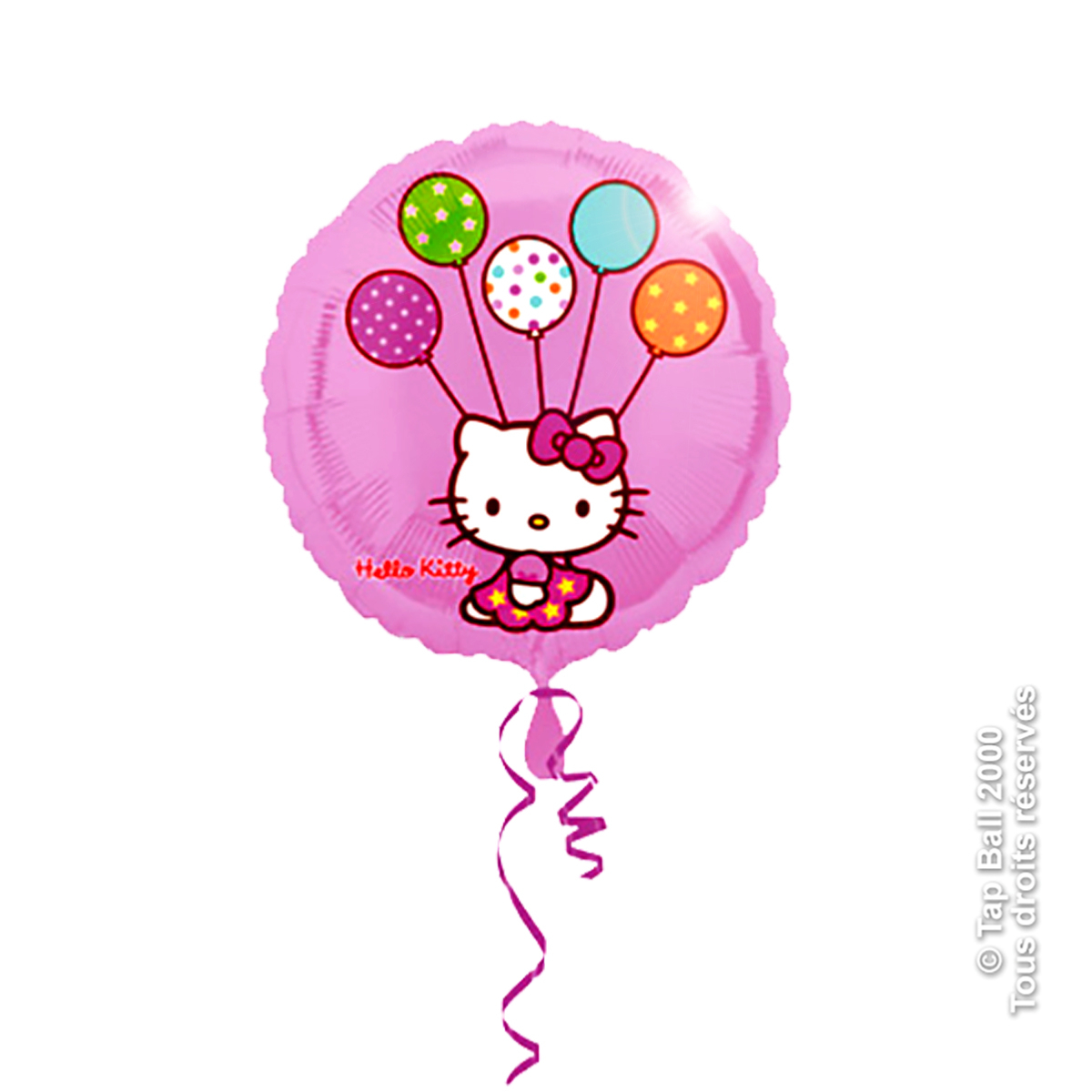 BALLON ROND HELLO KITTY HELIUM